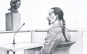 Rechtbanktekening Patrick S.